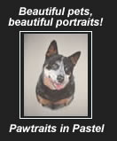 Beautiful portraits at Pawtraits in Pastel.